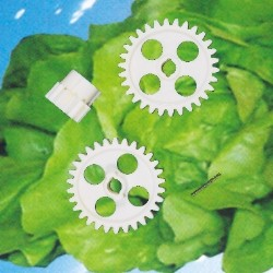 Zahnrädersatz für Salatschleudern E10