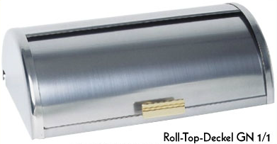 Roll-Top-Deckel GN 1/1