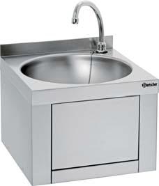 Handwaschbecken mit Knie-Bedienung
